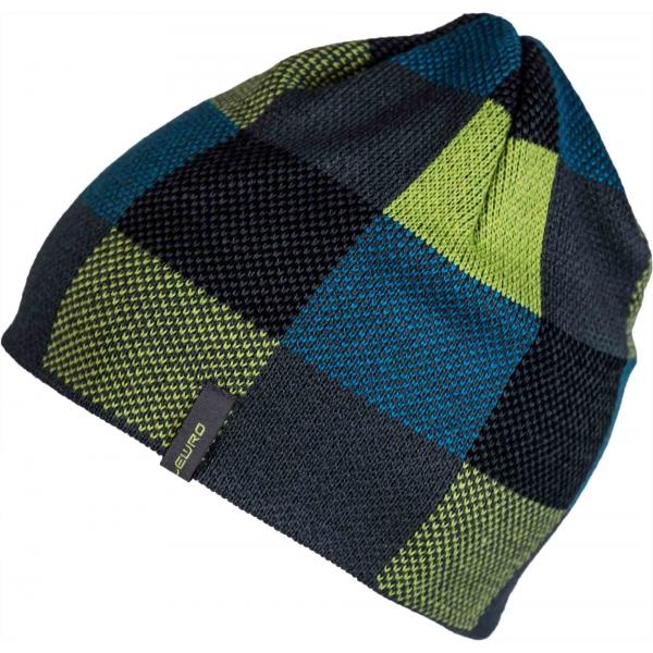 Lewro BINN černá 4-6 - Chlapecká pletená čepice