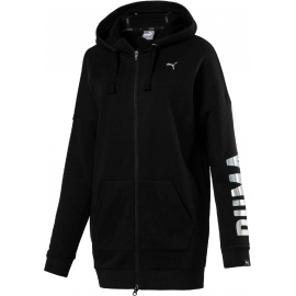 Puma FUSION ELONGATED FZ HOODY W - Дамски суитшърт