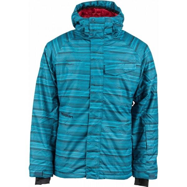 Reaper ROBIN modrá L - Pánská snowboardová bunda