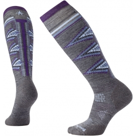 Smartwool PHD SKI LIGHT PATTERN W - Șosete ski damă