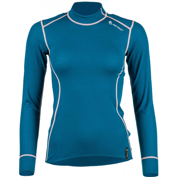 Sensor DOUBLE FACE tmavo modrá M - Dámske funkčné tričko