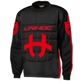 Unihoc GOALIE SWEATER SHIELD JR - Tricou floorball pentru juniori
