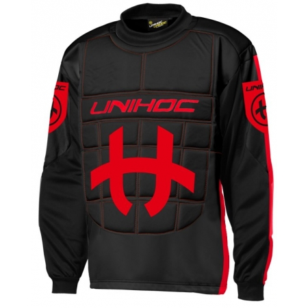 Unihoc GOALIE SWEATER SHIELD JR - Bluza bramkarska do unihokeja juniorska
