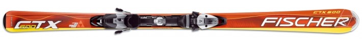 CTX 600 + vázání FS 10 RF2 - Sjezdové lyže Fischer - univerzální lyže - Fischer CTX 600 + vázání FS 10 RF2 - 2