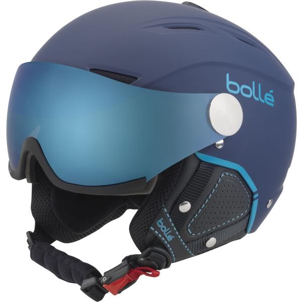 Bolle BACKLINE VISOR granatowy (59 - 61) - Kask narciarski