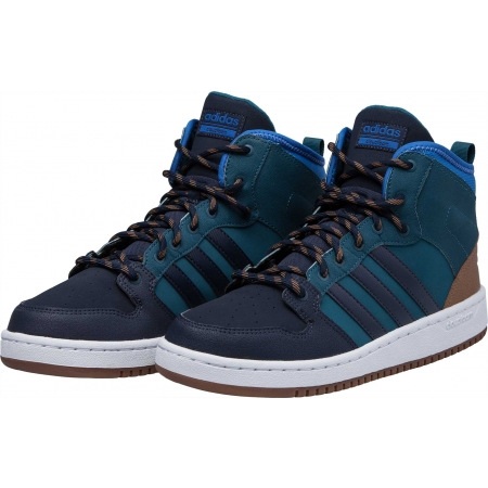 Pánská lifestyle obuv - adidas CF HOOPS MID WTR - 2