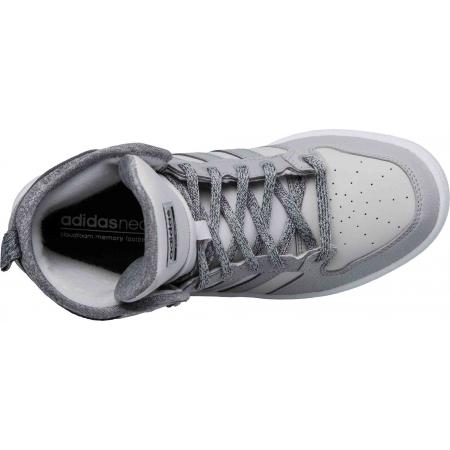 Dámska obuv - adidas CF HOOPS MID WTR W - 5