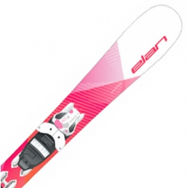 Elan LIL STYLE QS + EL 7.5 - Детски ски за ски спускане