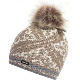 Eisbär DALIA LUX CRYSTAL - Dámska čiapka s brmbolcom