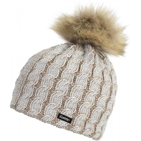 Eisbär SABRINA FUR MU - Damen Mütze mit Bommel