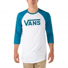 Vans CLASSIC RAGLAN - Pánské tričko s 3/4 rukávy