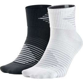 Nike PERF LTWT QTR 2PR - Běžecké ponožky