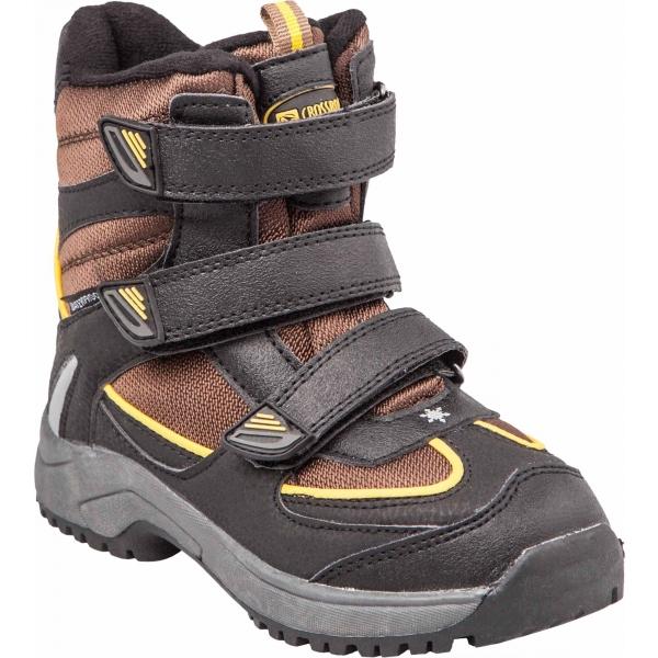 Crossroad CALLE hnedá 25 - Detská zimná obuv