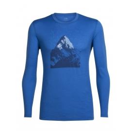 Icebreaker TECH LITE LS CREWE EVEREST DAWN - Pánské tričko