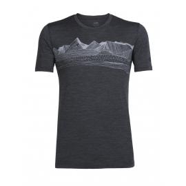 Icebreaker TECH LITE SS CREWE PYRENEES - Men's T-shirt