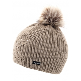 Eisbär CHANTAL LUX CRYSTAL MU - Women's bobble hat