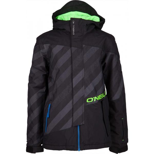 O'Neill PB THUNDER PEAK JACKET černá 128 - Chlapecká lyžařská/snowboardová bunda