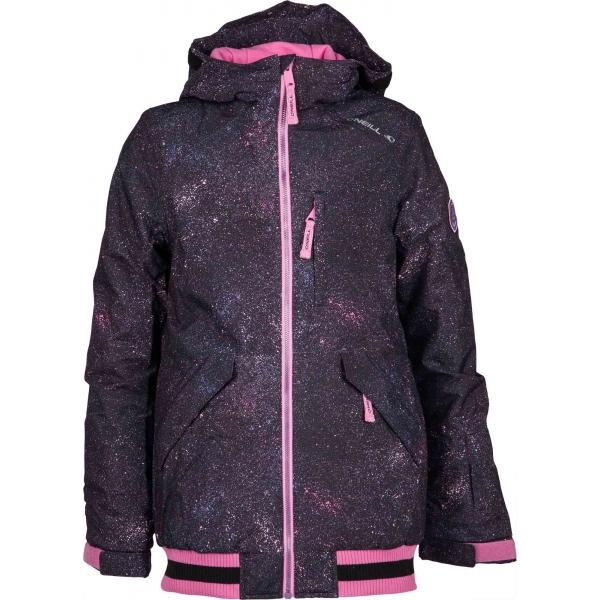 O'Neill PG GLOSS JACKET černá 170 - Dívčí lyžařská/snowboardová bunda
