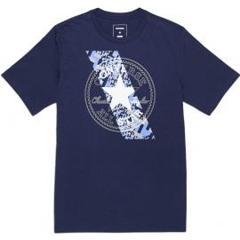 Converse CHUCKPATCH CONTRAST SLASH TEE - Pánske tričko
