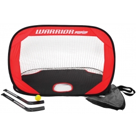Warrior MINI POP UP NET KIT - Tor-Set mit Hockeyschlägern