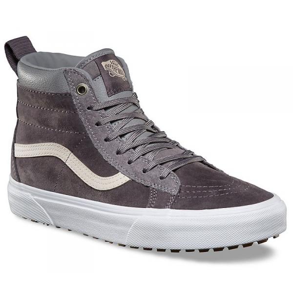 Vans SK8-HI MTE (MTE) szary 8.5 - Zimowe obuwie miejskie męskie