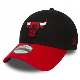 New Era 39THIRTY NBA BLACK CHICAGO BULLS - Klubová šiltovka