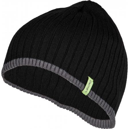Плетена шапка за момчета - Lewro BOBY - 1