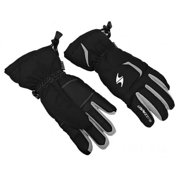 Blizzard RIDER JUNIOR čierna 6 - Juniorské lyžiarske rukavice