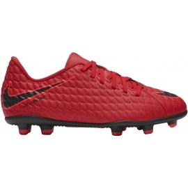 Nike HYPERVENOM PHADE III FG JR - Детски футболни обувки