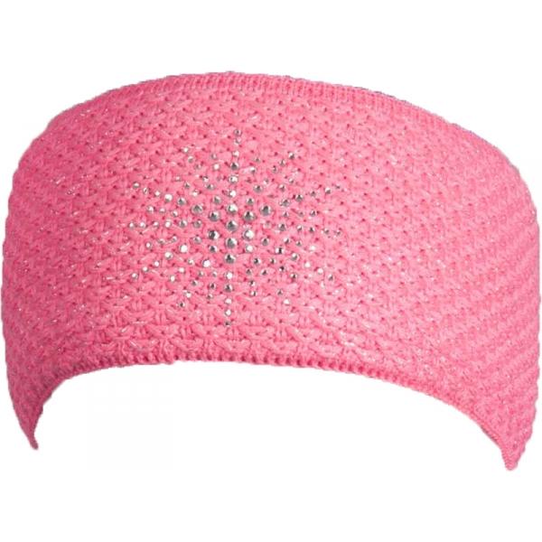 R-JET FASHION EXCLUSIV rózsaszín UNI - Női kötött fejpánt