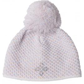 R-JET GIRLS RAINBOW - Детска едро плетена шапка за момичета