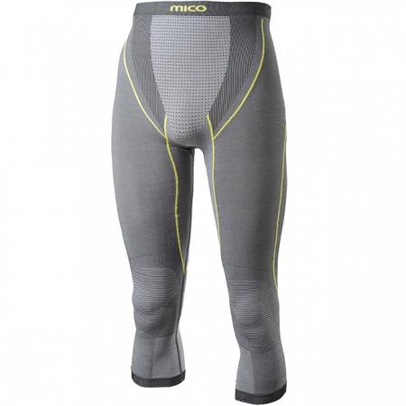 Pánské spodní kalhoty - Mico 3/4 PANTS SILVER