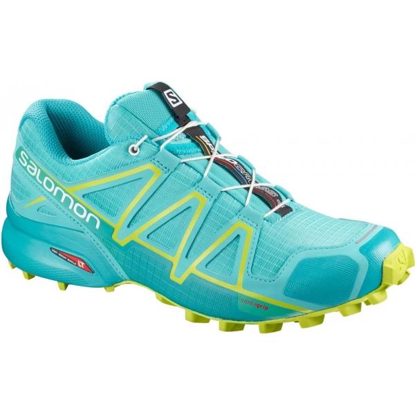 Salomon SPEEDCROSS 4 W svetlo zelená 6 - Dámska bežecká obuv