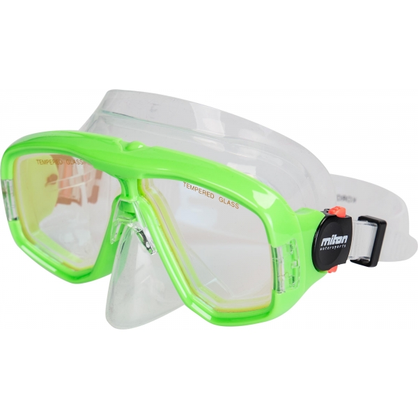 Miton KORO zielony  - Maska do nurkowania