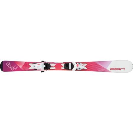 Detské zjazdové lyže - Elan LIL STYLE QS+EL 4.5 - 2