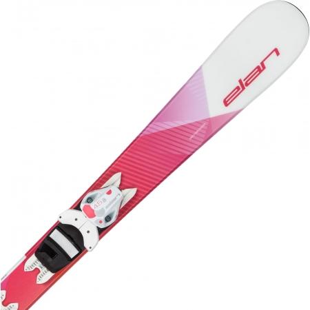 Detské zjazdové lyže - Elan LIL STYLE QS+EL 4.5 - 1