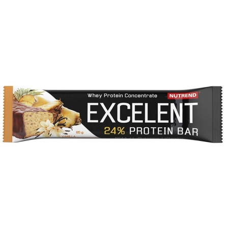 Proteinová tyčinka - Nutrend EXCELENT 2x85G+1x40G VANILKA+ANANAS
