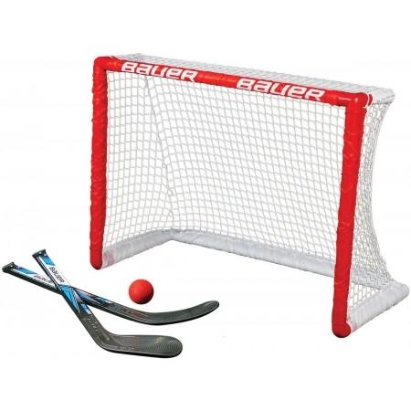 Bauer KNEE HOCKEY GOAL SET - Plastová branka s hokejkami