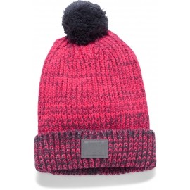 Under Armour GIRLS SHIMMER POM BEANIE - Плетена шапка за момичета