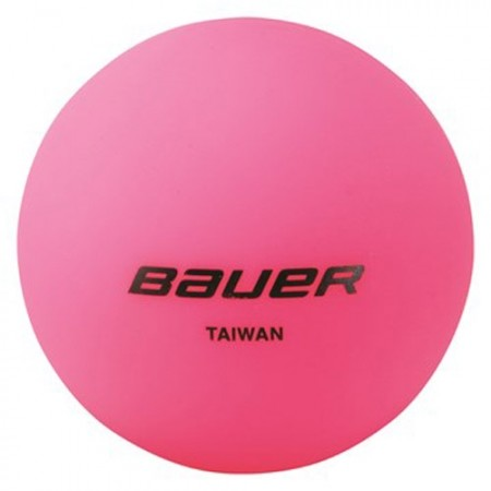 Bauer HOCKEY BALL COOL PINK - Míček
