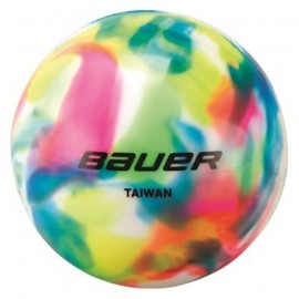 Bauer HOCKEY BALL MULTICOLORED - Loptička