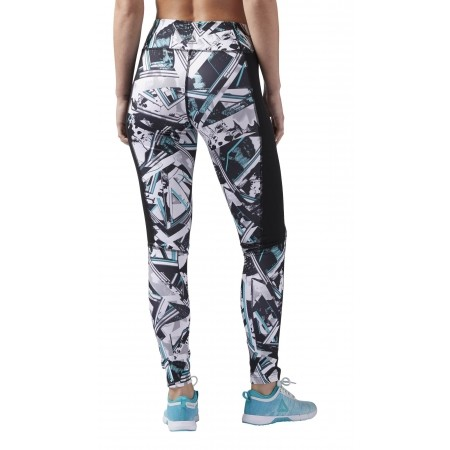 Women's tights - Reebok WOR AOP TIGHT-WING - 2