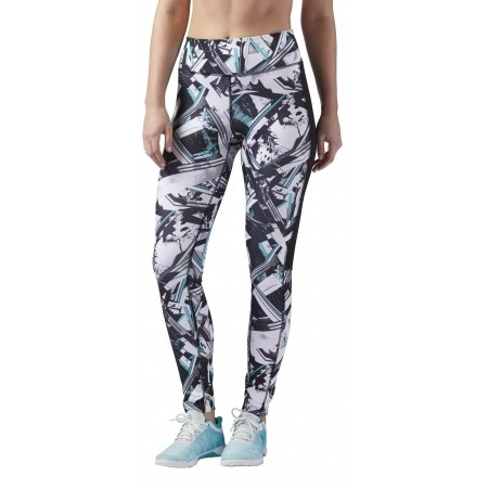 Women's tights - Reebok WOR AOP TIGHT-WING - 1