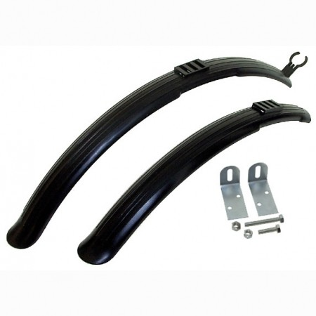 Mudguard set 26 - set of Mighty mudguards (front and rear) - Etape Mudguard set 26