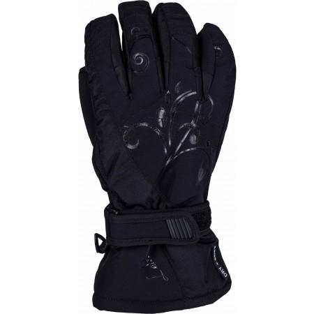 Dámske zjazdové rukavice - Leki VELVET S W - 1
