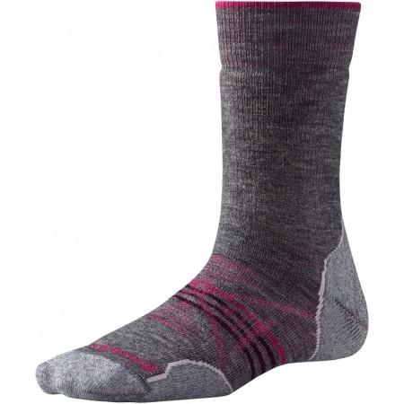 Women's hiking socks - Smartwool PHD OUTDOOR MEDIUM CREW W