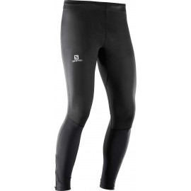 Salomon AGILE LONG TIGHT M - Pantaloni de alergare bărbați