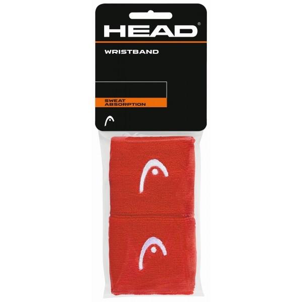 """Head WRISTBAND 2,5"""" červená NS - Potítka na zápästie"""