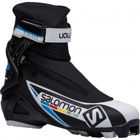 Salomon Pro Combi Pilot Blue Cross Country Buty Narciarskie