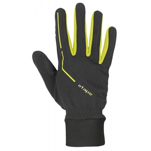 Etape PEAK WS žltá L - Športové zateplené rukavice